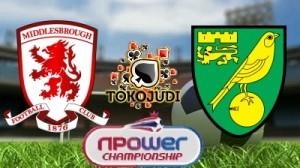 Prediksi Skor Middlesbrough vs Norwich City