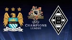 Prediksi Skor Manchester City vs Borussia Mgladbach 9 Desember 2015
