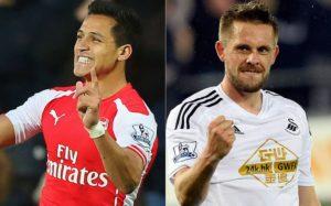 Prediksi Skor Arsenal vs Swansea City 15 Oktober 2016