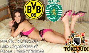 Prediksi Skor Borussia Dortmund vs Sporting Lisbon 3 November 2016
