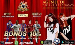 Tokojudi.com Situs Bandar Bola Tangkasnet Online Promo Bonus Terbesar