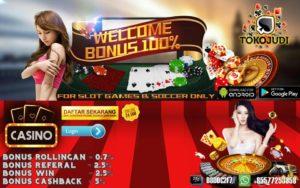 Tokojudi.com Agen Judi Slot Online Bonus Setiap Deposit