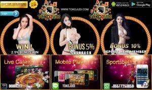 Tokojudi.com Agen Judi Casino Online Bonus Member Baru Terbesar
