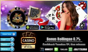 Tokojudi.com Agen Judi Slot Online Bonus Terbesar