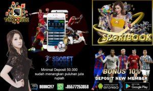 Tokojudi.com Agen Judi Bola Online Bonus Setiap Deposit Terbesar