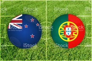 Prediksi Skor New Zealand vs Portugal 24 Juni 2017
