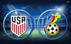 Prediksi Skor United Statesvs Ghana 2 Juli 2017