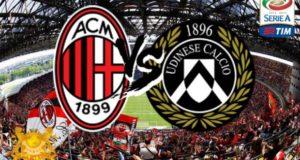 Prediksi Skor Ac Milan vs Udinese 17 September 2017