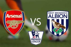 Prediksi Skor Arsenal vs West Bromwich Albion 25 September 2017