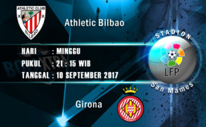 Prediksi Skor Athletic Bilbao vs Girona 10 September 2017