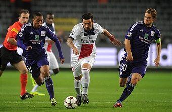 Prediksi Skor Anderlecht vs Paris Saint Germain 19 Oktober 2017