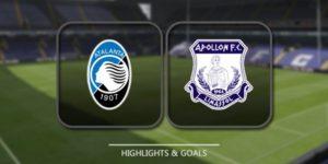 Prediksi Skor Apollon vs Atalanta 3 November 2017