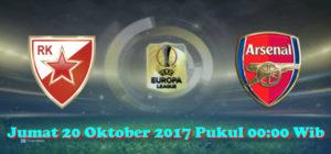 Prediksi Skor Crvena Zvezda vs Arsenal 20 Oktober 2017