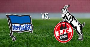 Prediksi Skor Hertha BSC vs Koln 25 Oktober 2017