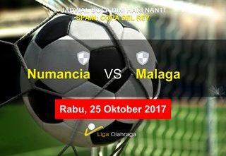 Prediksi Skor Numancia vs Malaga 25 Oktober 2017