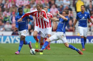 Prediksi Skor Stoke City vs Leicester City 4 November 2017
