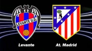 Prediksi Skor Levante vs Atletico Madrid 26 November 2017
