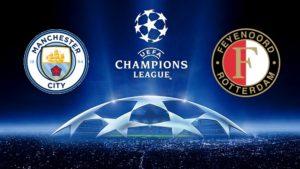 Prediksi Skor Manchester City vs Feyenoord 22 November 2017