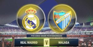 Prediksi Skor Real Madrid vs Malaga 25 November 2017
