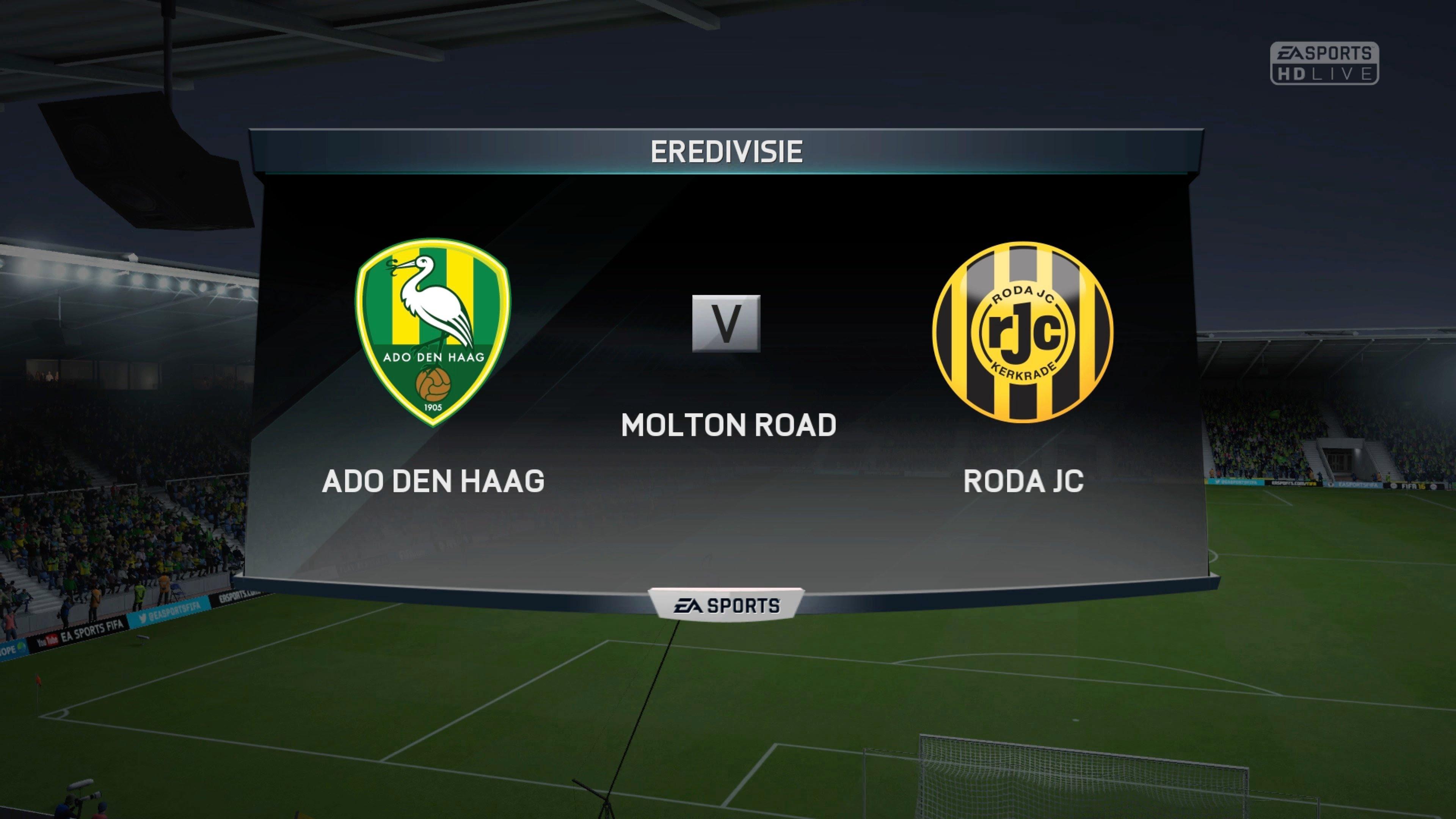 Prediksi Skor ADO Den Haag vs Roda JC 14 Desember 2017
