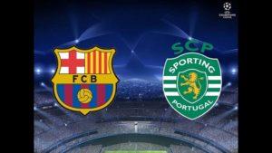 Prediksi Skor Barcelona vs Sporting Lisbon 6 Desember 2017