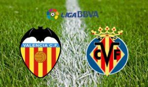 Prediksi Valenciavs Villarreal 23 Desember 2017