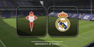 Prediksi Celta De Vigovs Real Madrid 8 Januari 2018