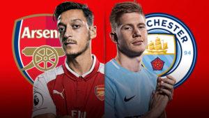 Prediksi Arsenalvs Manchester City 2 Maret 2018
