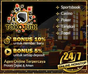 Tokojudi.com Situs Judi Casino Online Terpercaya