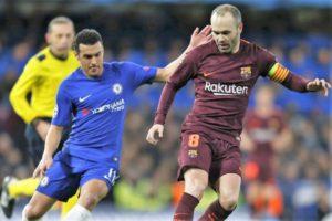 Prediksi Barcelonavs Chelsea 15 Maret 2018