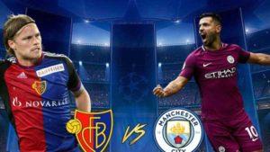 Prediksi Manchester Cityvs Basel 8 Maret 2018