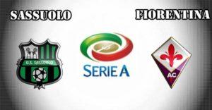 Prediksi Sassuolovs Fiorentina 21 April 2018