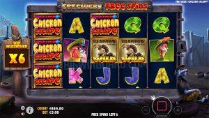 Slot Game The Great Chicken Escape Dari Pragmatic Play