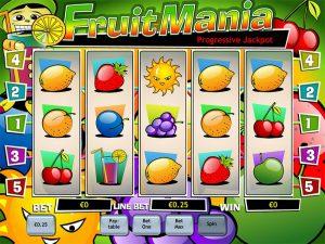Game Slot Fruit Mania Dari Playtech