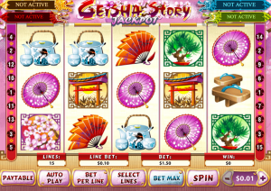 Game Slot Geisha Story Dari Playtech