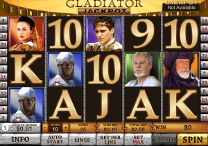 Slot Game Gladiator Dari Playtech